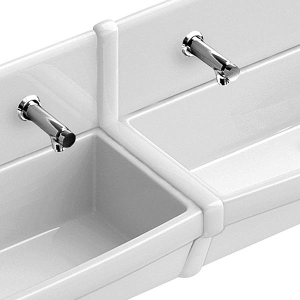 Villeroy & Boch O. novo cover strip between rear panels white