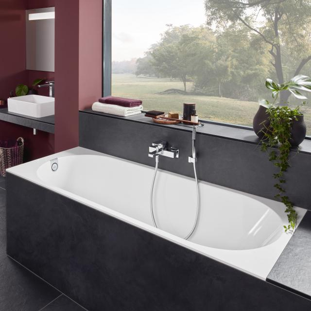 Villeroy & Boch Oberon 2.0 rectangular bath, built-in white