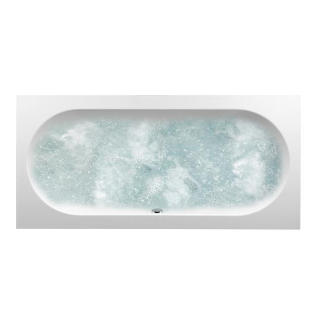 Villeroy & Boch Oberon Duo rectangular whirlbath, built-in starwhite, with CombiPool Comfort