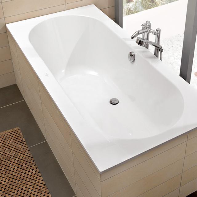 Villeroy & Boch Oberon rectangular  bath, built-in white