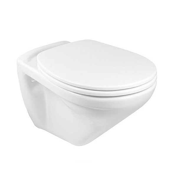 Villeroy & Boch Omnia classic wall-mounted washdown toilet white, with CeramicPlus