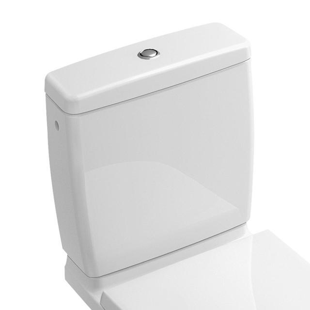 Villeroy & Boch O.novo cistern with side/rear inlet white, with CeramicPlus
