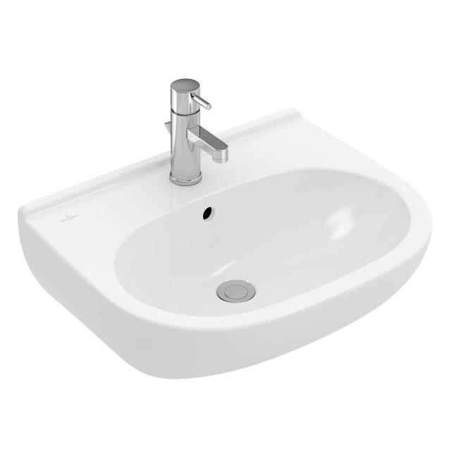 Villeroy & Boch O.novo combi pack washbasin incl. fittings white, with overflow