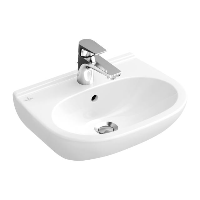 Villeroy & Boch O.novo washbasin Compact white, with CeramicPlus, with overflow