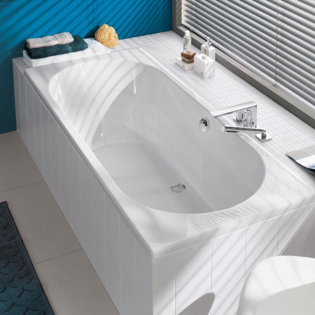 Villeroy & Boch O.novo Duo rectangular bath, built-in white
