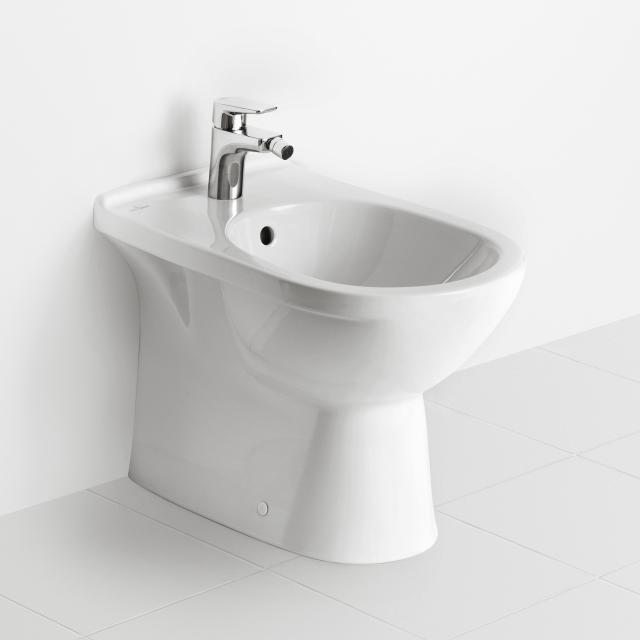 Villeroy & Boch O.novo floorstanding bidet white, with CeramicPlus