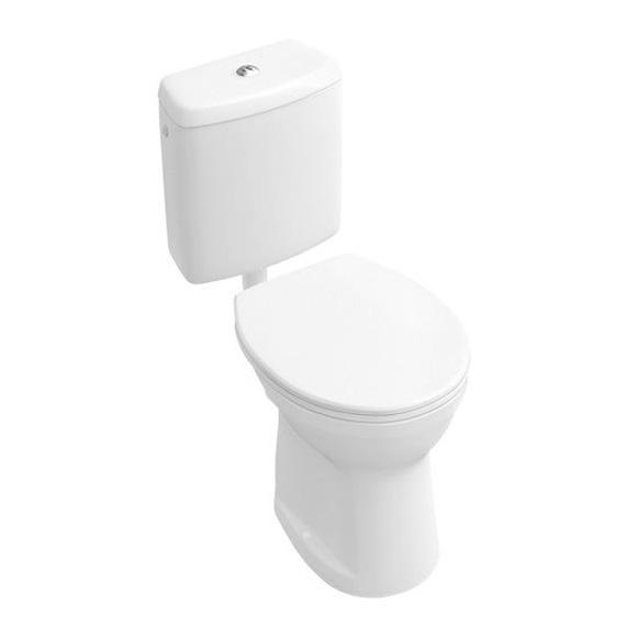 Villeroy & Boch O.novo floorstanding washdown toilet, vertical outlet white, vertical outlet