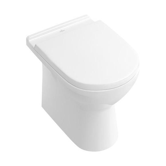 Villeroy & Boch O.novo floorstanding washdown toilet white, with CeramicPlus
