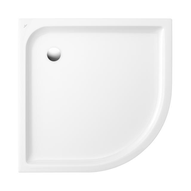 Villeroy & Boch O.novo quadrant shower tray white with anti-slip
