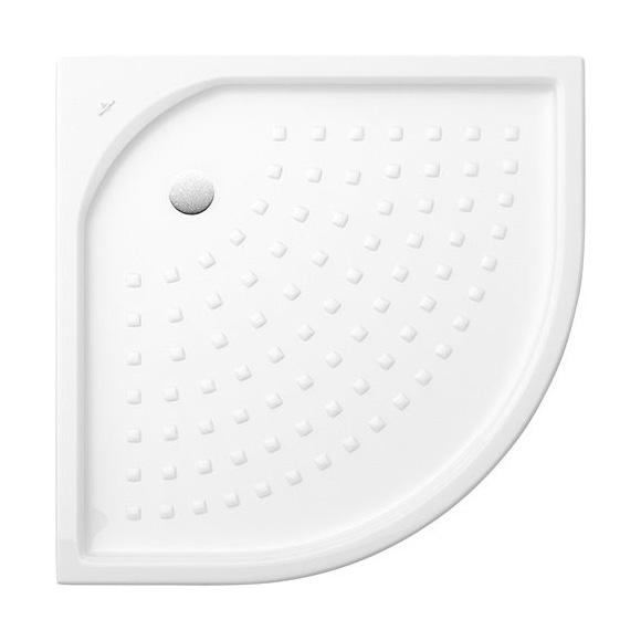 Villeroy & Boch O.novo quadrant shower tray with nubs white