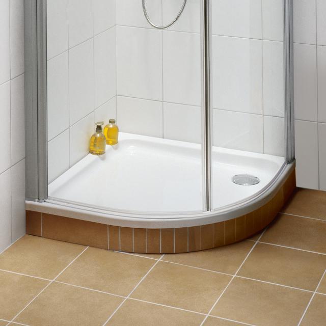 Villeroy & Boch O.novo Receveur de douche en quart de cercle blanc