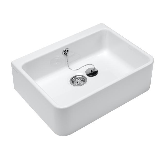 Villeroy & Boch O.novo sink with overflow white