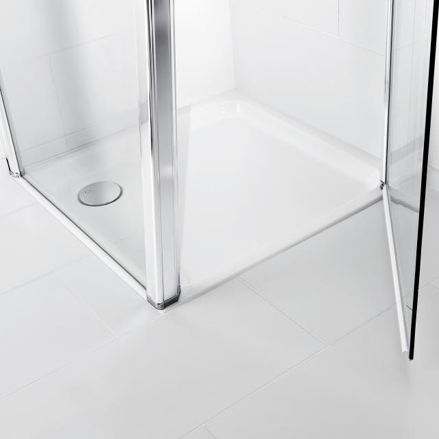 Villeroy & Boch O.novo rectangular shower tray white