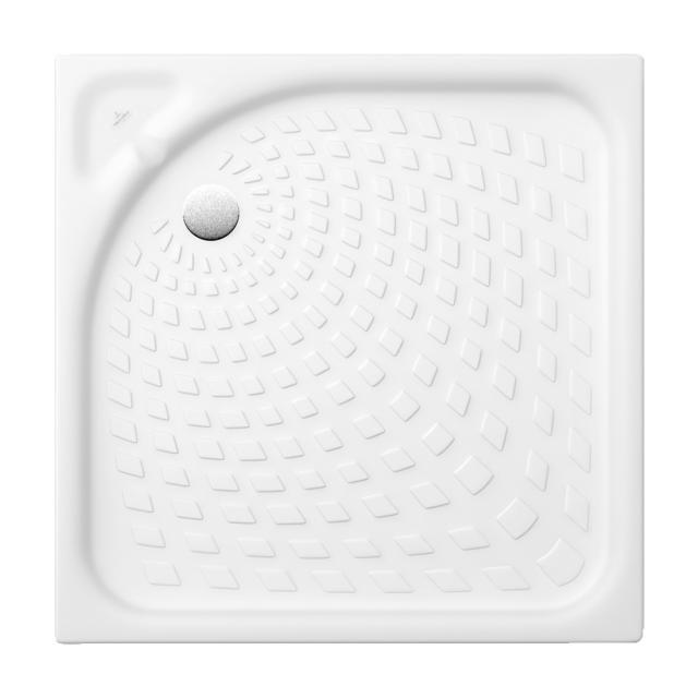 Villeroy & Boch O.novo square shower tray with nubs white
