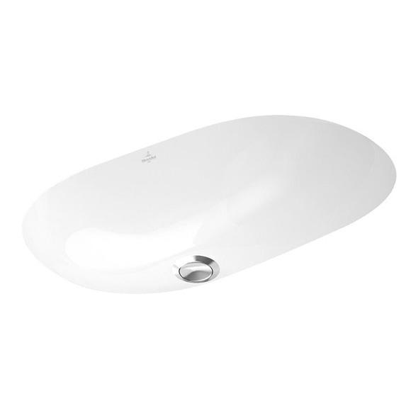 Villeroy & Boch O.novo undercounter basin white, with CeramicPlus, with overflow