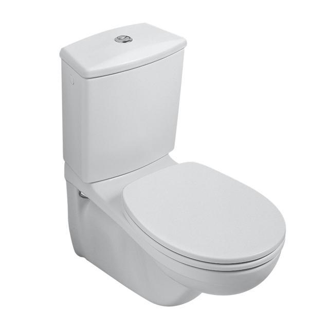 Villeroy & Boch O.novo wall-mounted close-coupled washdown toilet white