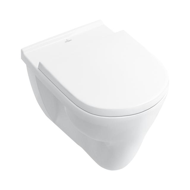 Villeroy & Boch O.novo wall-mounted washout toilet, for GERMANY ONLY! white, with CeramicPlus
