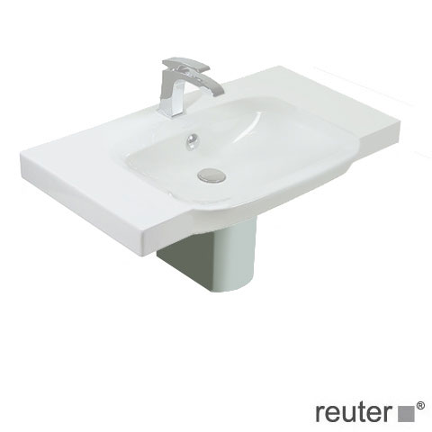 Villeroy & Boch Sentique / Subway 2.0 waste cover for washbasin white, with CeramicPlus