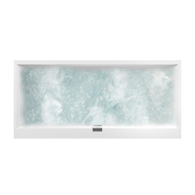 Villeroy & Boch Squaro Edge 12 Duo rectangular whirlbath, built-in white, with CombiPool Entry