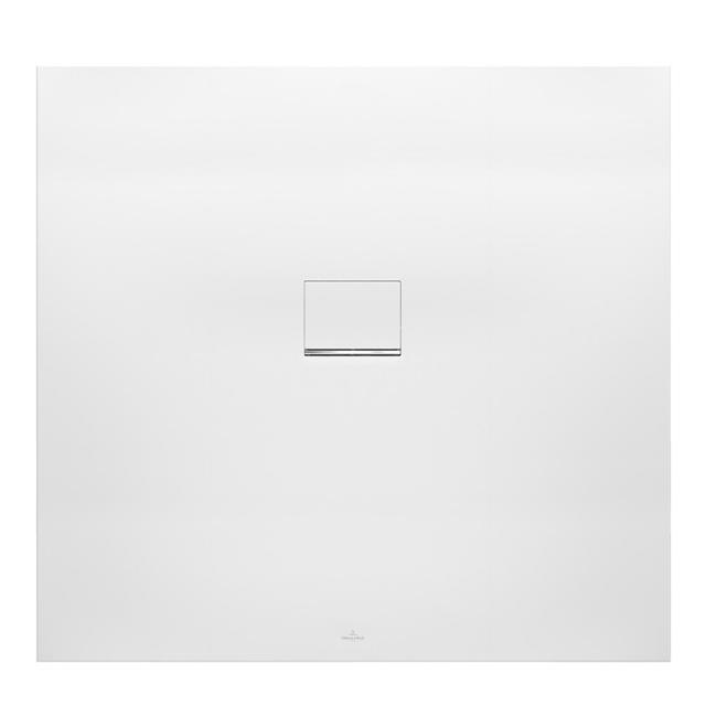 Villeroy & Boch Squaro Infinity square/rectangular shower tray stone white