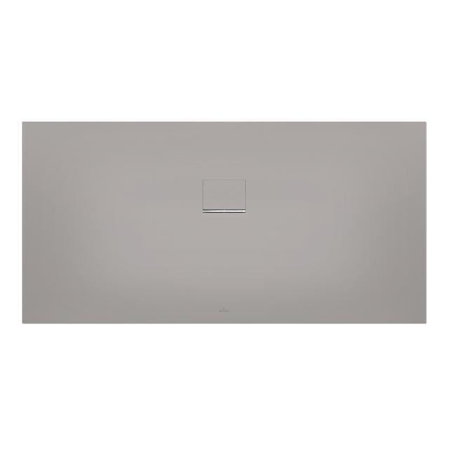 Villeroy & Boch Squaro Infinity shower tray long side cut grey