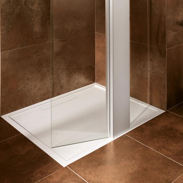 Villeroy & Boch Squaro Super Flat rectangular shower tray white