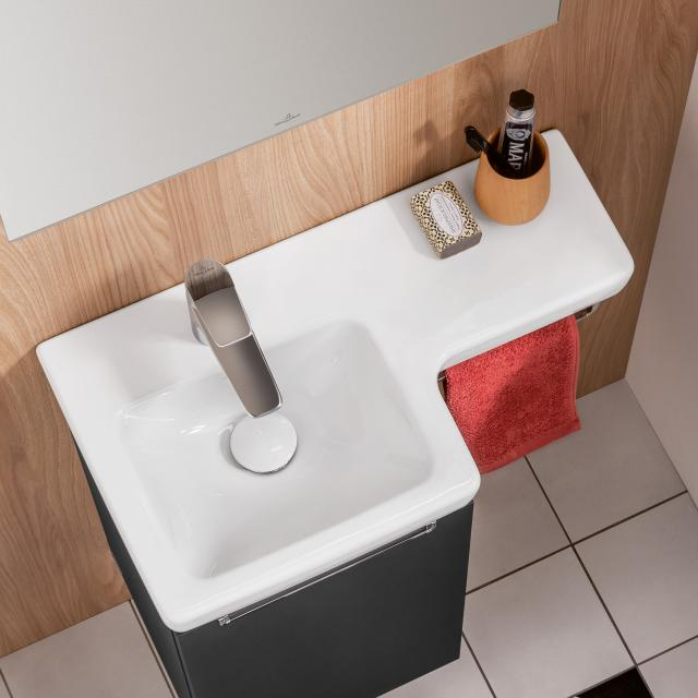 Villeroy & Boch Subway 2.0 hand washbasin white, with CeramicPlus, without overflow