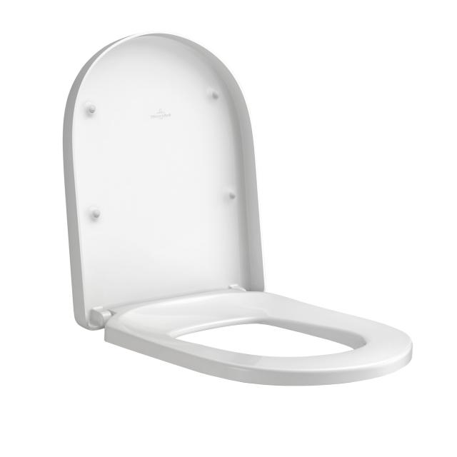 Villeroy & Boch Subway 2.0 toilet seat Comfort, removable, with soft close
