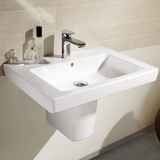 Villeroy & Boch Subway 2.0 washbasin white, with CeramicPlus