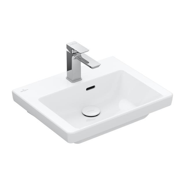Villeroy & Boch Subway 3.0 hand washbasin white, with CeramicPlus, with overflow