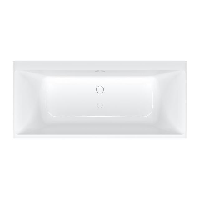 Villeroy & Boch Subway 3.0 rectangular bath with SilentFlow white, overflow chrome