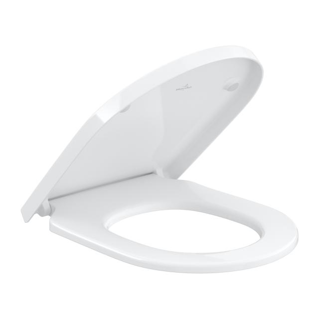 Villeroy & Boch Subway 3.0 toilet seat white, with AntiBac, with soft-close & removable