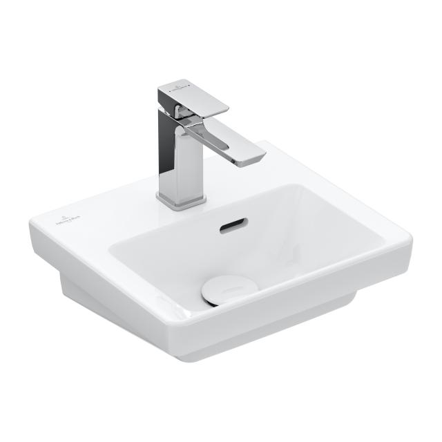 Villeroy & Boch Subway 3.0 vanity hand washbasin white, with overflow
