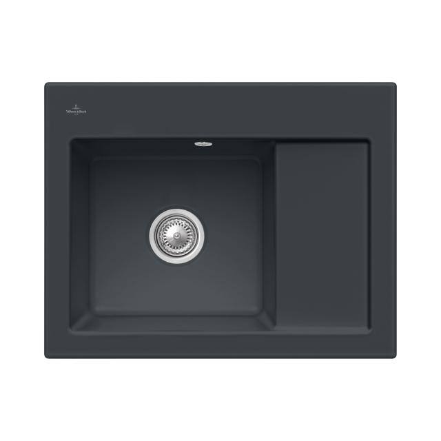 Villeroy & Boch Subway 45 Compact built-in sink ebony/without borehole