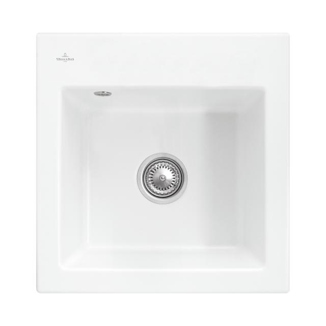 Villeroy & Boch Subway 50 S built-in sink white alpine high gloss/without borehole