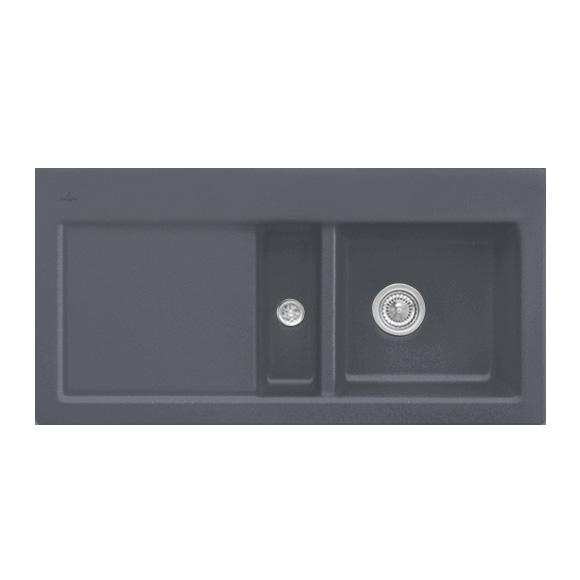 Villeroy & Boch Subway 60 sink graphite/position borehole 4
