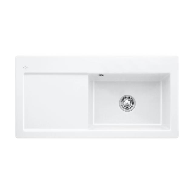 Villeroy & Boch Subway 60 XL Flat sink white alpine high gloss/without borehole