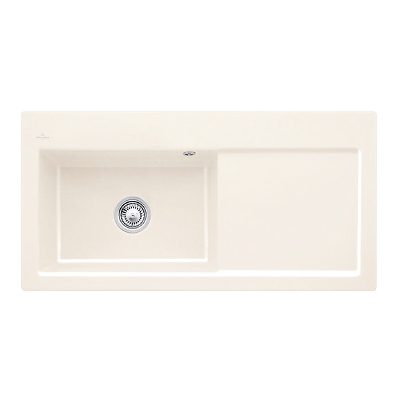 Villeroy & Boch Subway 60 XL sink cream gloss/without tap hole