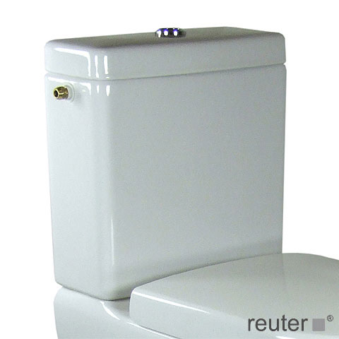 Villeroy & Boch Subway cistern for close-coupled installation white, with CeramicPlus