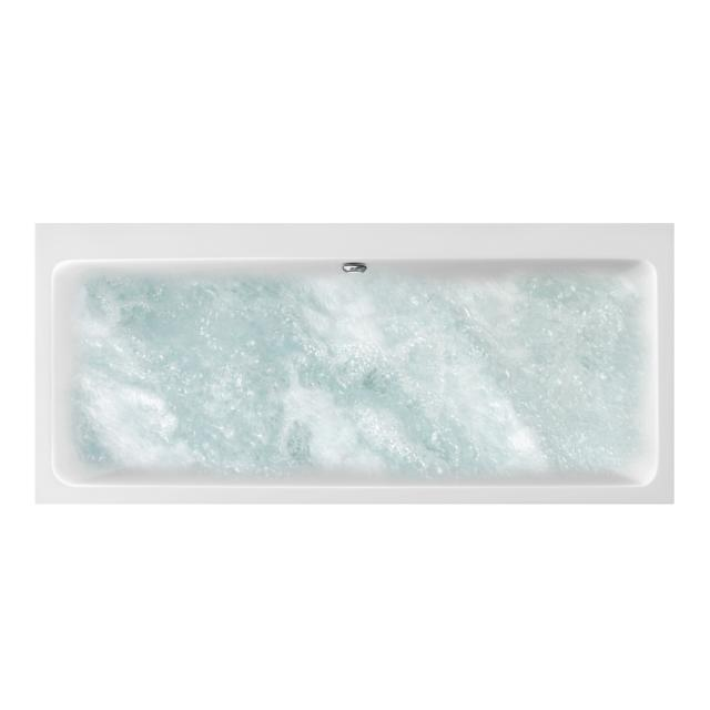 Villeroy & Boch Subway Duo rectangular whirlbath, built-in white, with CombiPool Comfort, with bath filler