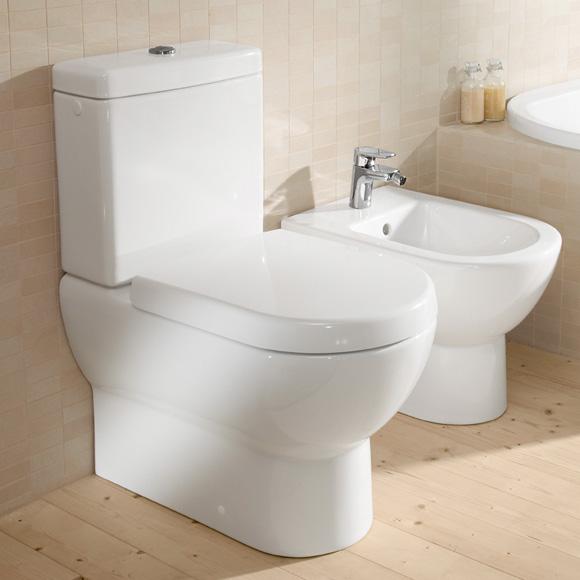 Villeroy & Boch Subway floorstanding close-coupled washdown toilet white