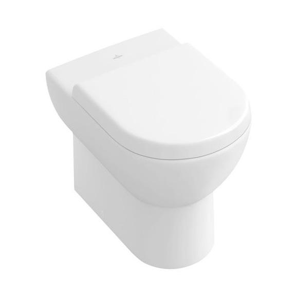 Villeroy & Boch Subway floorstanding washdown toilet, close to wall white
