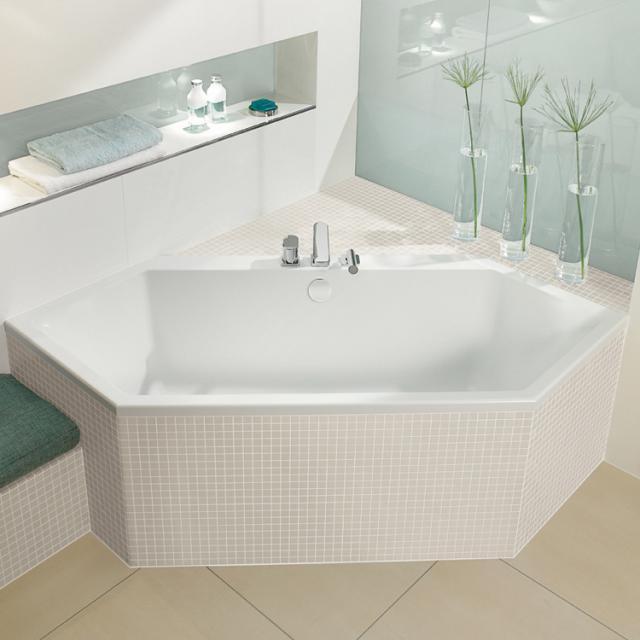Villeroy & Boch Subway hexagonal bath, built-in white