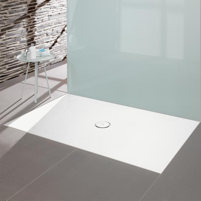 Villeroy & Boch Subway Infinity shower tray cut on the long side white