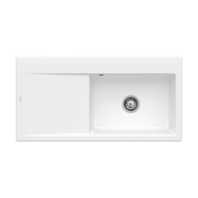 Villeroy & Boch Subway Style 60 sink white alpine high gloss/without tap hole