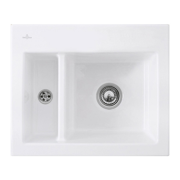 Villeroy & Boch Subway XM Flat sink white alpine high gloss/without tap hole