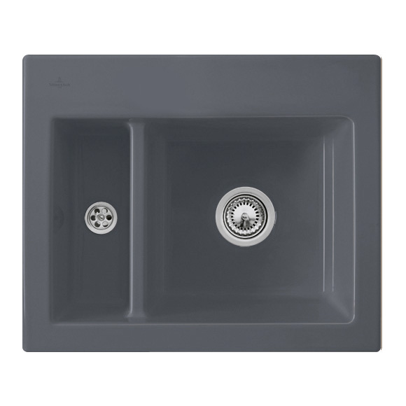 Villeroy & Boch Subway XM sink graphite/without tap hole