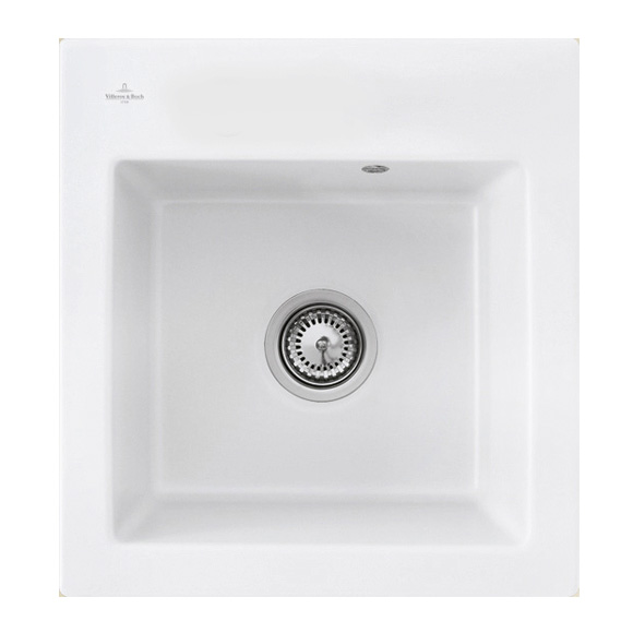 Villeroy & Boch Subway XS Flat sink white alpine high gloss/without tap hole