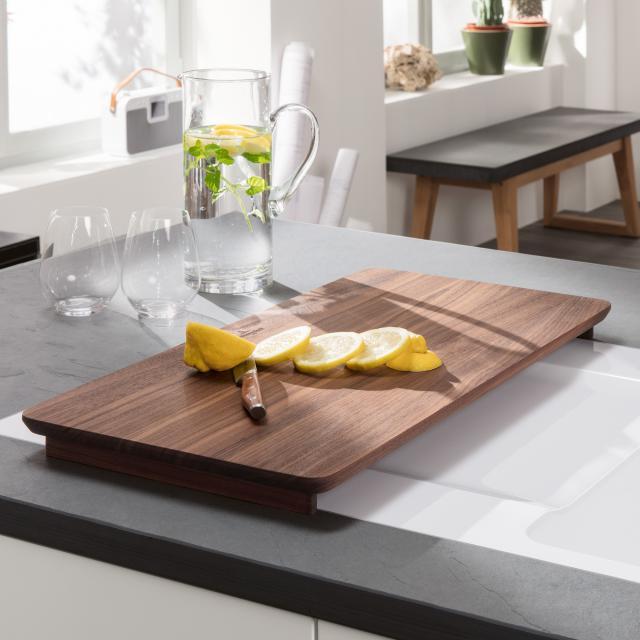 Villeroy & Boch universal chopping board made of solid walnut