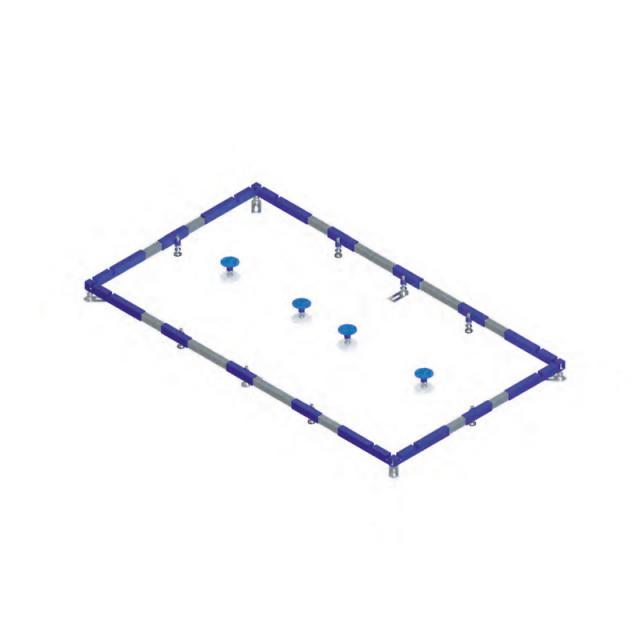 Villeroy & Boch ViFrame for large shower trays